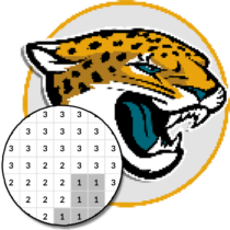 American Football Logo Color By Number – Pixel Art 7.0 APK MOD