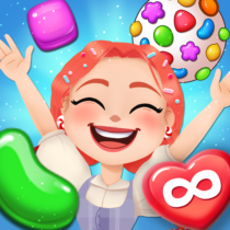 Candy Go Round 1 Free Candy Puzzle Match 3 Game  1.10.0 APK MOD