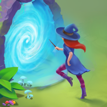 Charms of the Witch: Magic Mystery Match 3 Games  2.43.0 APK MOD