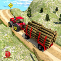 Drive Tractor trolley Offroad Cargo- Free 3D Games  2.0.50 APK MOD