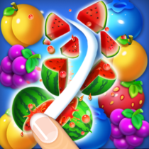 Fruits Crush Link Puzzle Game  Fruits Crush Link Puzzle Game   APK MOD