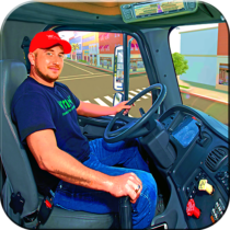 In Truck Driving: Euro new Truck 2020 2.1 APK MOD