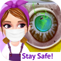 Messy House Cleanup Girls Home Cleaning Activities 7.0.3 APK MOD