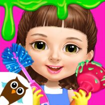 Sweet Baby Girl Cleanup 5 – Messy House Makeover 7.0.30018 APK MOD