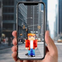 AR Minecraft skins Visualiser in Augmented Reality 11 APK MOD