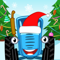 Blue Tractor Games for Toddlers 2 Years Old! Pre K  Blue Tractor Games for Toddlers 2 Years Old! Pre K   APK MOD