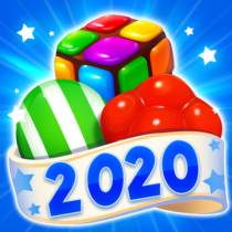 Candy Witch Match 3 Puzzle Free Games  16.9.5039 APK MOD