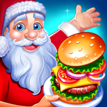 Christmas Fever Cooking Star Chef Cooking Games  1.2.3 APK MOD