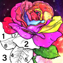 Color By Number & Paint By Number – Coloring Book 6.0 APK MOD