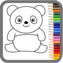 Coloring Games for Kids: Baby Drawing Book & Pages 1.0.6 APK MOD
