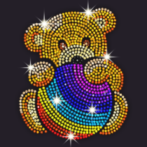 Diamond Coloring Sequins Art & Paint by Numbers  1.5.7 APK MOD