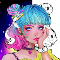 Sweet Coloring Color by Number Painting Game  1.0.31 APK MOD