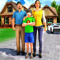 Happy Family Life Dad Mom – Virtual Housewife Care 1.1 APK MOD