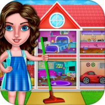 House Cleanup : Girl Home Cleaning Games 3.9.1 APK MOD