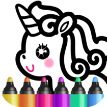 Kids Drawing Games for Girls 🎀 Apps for Toddlers!  APK MOD 1.4.3.4