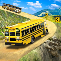 Offroad School Bus Driving: Flying Bus Games 2020  1.48 APK MOD