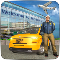 Real Taxi Airport City Driving-New car games 2020 1.8 APK MOD