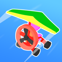 Road Glider – Incredible Flying Game 1.0.25 APK MOD