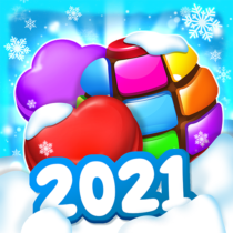 Candy House Fever 2021 free match game  1.3.3 APK MOD