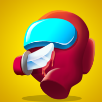 Red Imposter Nightmare Christmas  1.2.5 APK MOD