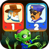 Two guys & Zombies (two-player game) 1.2.5 APK MOD