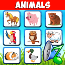 Animal sounds. Learn animals names for kids 6.6 APK MOD