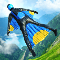 Base Jump Wing Suit Flying  1.0 APK MOD