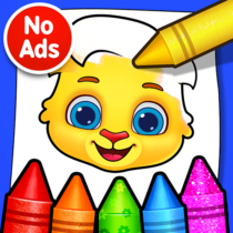 Coloring Games: Coloring Book, Painting, Glow Draw 1.0.9 APK MOD