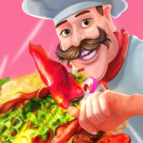 Cooking Warrior Cooking Food Chef Fever  2.6 APK MOD