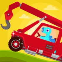 Dinosaur Rescue – Truck Games for kids & Toddlers 1.1.0 APK MOD