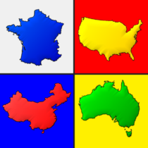 Maps of All Countries in the World: Geography Quiz 3.1.0 APK MOD