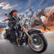 Outlaw Riders War of Bikers  0.3.8 APK MOD