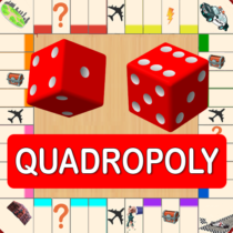 Quadropoly Best AI Board Business Trading Game  1.78.83 APK MOD