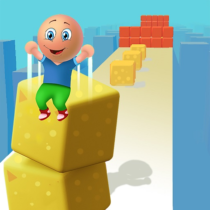 Cube Stack 3d: Fun Passing over Blocks and Surfing 1.0.7 APK MOD