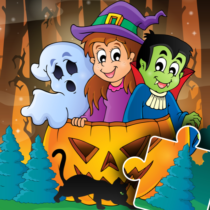Halloween Puzzle for kids & toddlers 🎃 2021.39 APK MOD
