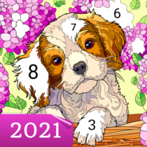Happy Canvas™ – Color by Number Book  2.1.2 APK MOD
