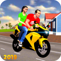 Offroad Bike Taxi Driver: Motorcycle Cab Rider 3.2.1 APK MOD