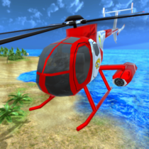 Helicopter Rescue Flying Simulator 3D 1.1 APK MOD
