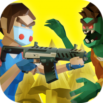 Two Guys & Zombies 3D Online game with friends  0.27 APK MOD