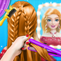 Braided Hairstyle Salon: Make Up And Dress Up  0.10 APK MOD