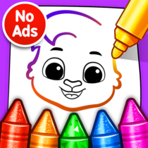 Drawing Games Draw & Color For Kids  1.0.7 APK MOD
