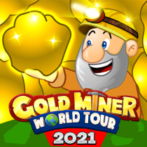 Gold Miner World Tour: Gold Rush Puzzle RPG Game 1.8.3 APK MOD