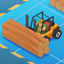 Idle Forest Lumber Inc: Timber Factory Tycoon  1.2.6 APK MOD