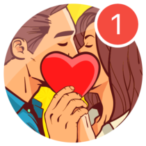 Kiss Me Spin the Bottle for Dating, Chat & Meet  1.0.51 APK MOD