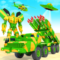 US Army Robot Missile Attack: Truck Robot Games 32 APK MOD