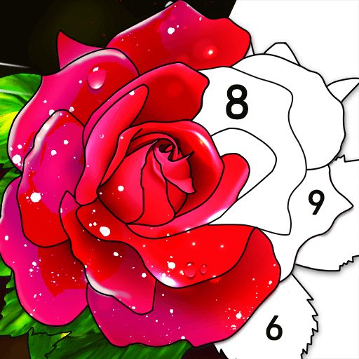 Color by Number: Oil Painting Coloring Book 1.801 APK MOD