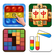 Puzzle Game Collection&Antistress 2.5 APK MOD